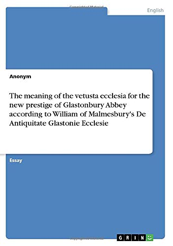 The meaning of the vetusta ecclesia for: Manuela C. Müller