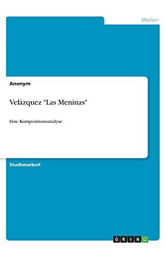 9783640766130: Velázquez Las Meninas