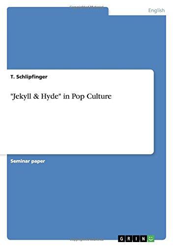 """9783640773015: """"Jekyll & Hyde"""" in Pop Culture"""