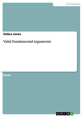9783640800025: Valid Fundamental Arguments