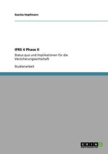 Ifrs 4 Phase II: Sascha Hopfmann