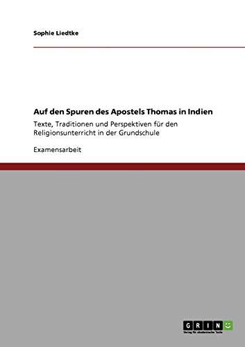 9783640814039: Auf den Spuren des Apostels Thomas in Indien