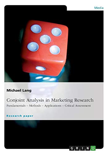 9783640830749: Conjoint Analysis in Marketing Research