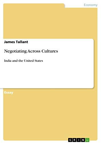 Negotiating Across Cultures: James Tallant