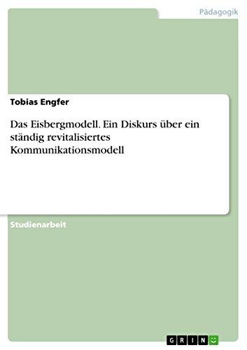 Das Eisbergmodell: Engfer, Tobias