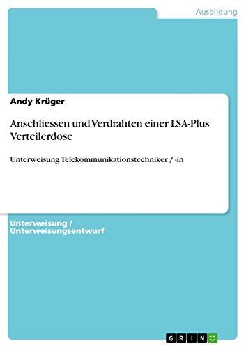 Anschliessen Und Verdrahten Einer Lsa-Plus Verteilerdose: Andy Krüger