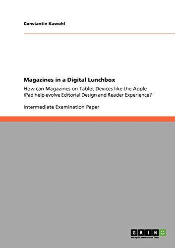 9783640877430: Magazines in a Digital Lunchbox