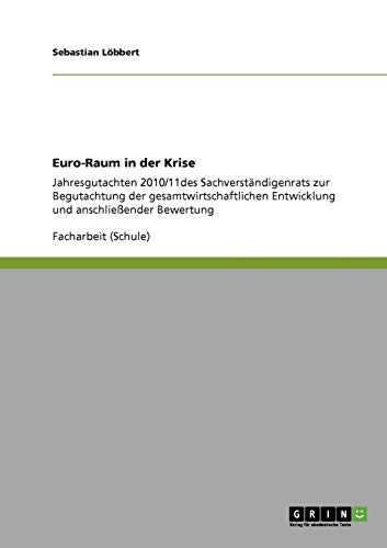 Euro-Raum in Der Krise: L. Bbert, Sebastian
