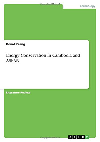 Energy Conservation in Cambodia and ASEAN: Donal Yeang