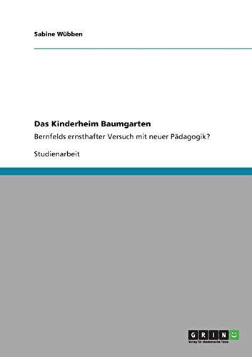 Das Kinderheim Baumgarten: Sabine W. Bben