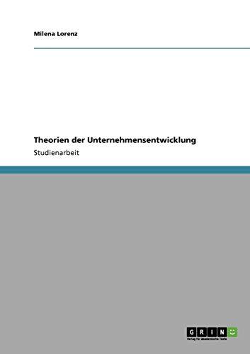 Theorien Der Unternehmensentwicklung: Milena Lorenz