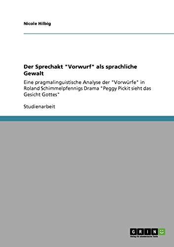 9783640922963: Der Sprechakt