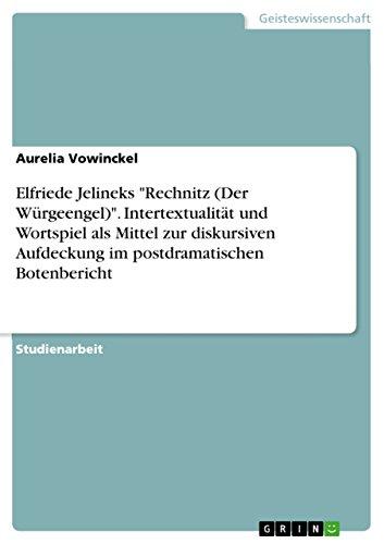 Klatsch, Tratsch Und Sundenstolz - Intertextualitat Und Wortspiel ALS Mittel Zur Diskursiven ...