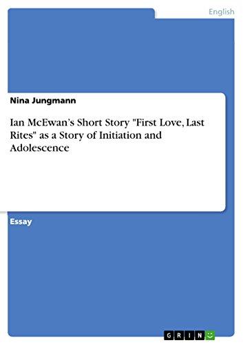 9783640932597: Ian McEwan's Short Story
