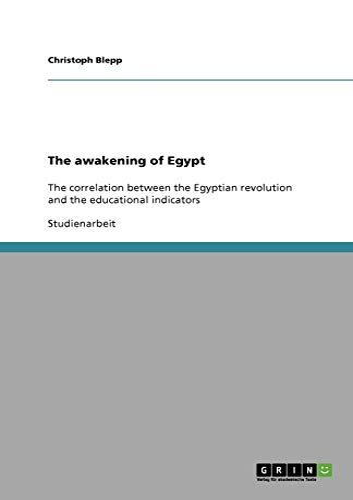 9783640935109: The awakening of Egypt (German Edition)