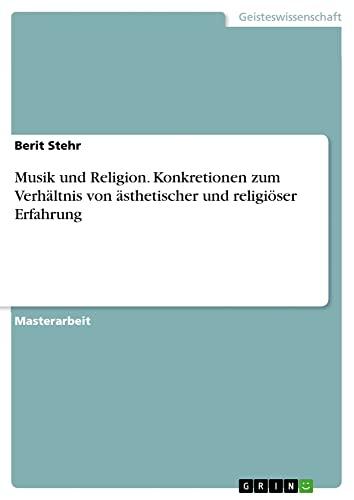 Musik und Religion: Berit Stehr