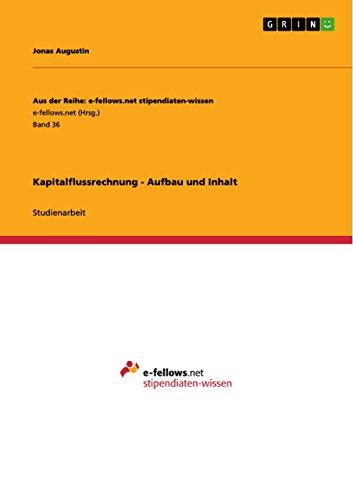 9783640945542: Kapitalflussrechnung - Aufbau und Inhalt