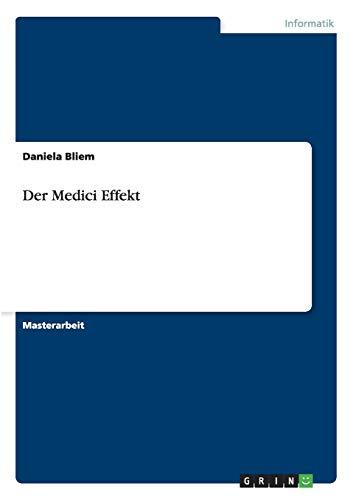 Der Medici Effekt: Daniela Bliem