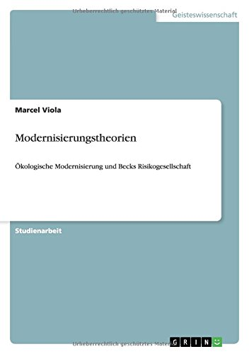 9783640970520: Modernisierungstheorien