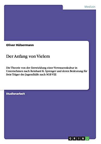 Der Anfang von Vielem: Oliver H�lsermann