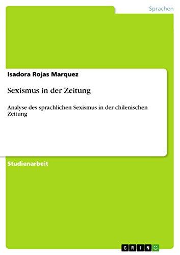 9783640982219: Sexismus in der Zeitung (German Edition)