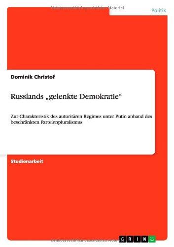 Russlands Gelenkte Demokratie: Dominik Christof