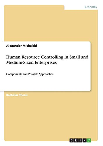 9783640987924: Human Resource Controlling in Small and Medium-Sized Enterprises