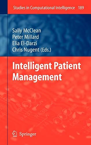 Intelligent Patient Management: Sally McClean