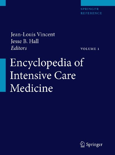 Encyclopedia of Intensive Care Medicine: Jean-Louis Vincent