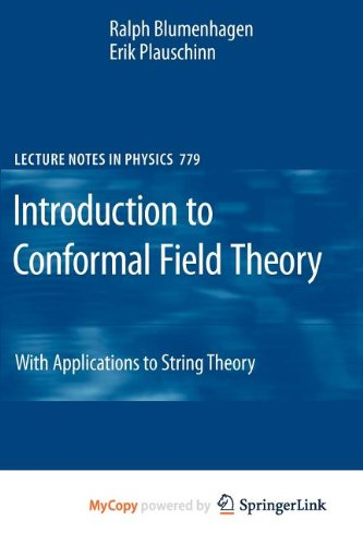 9783642005374: Introduction to Conformal Field Theory