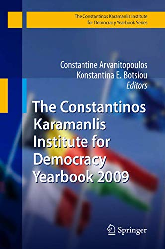The Constantinos Karamanlis Institute for Democracy Yearbook