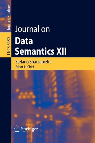 9783642006869: Journal on Data Semantics XII