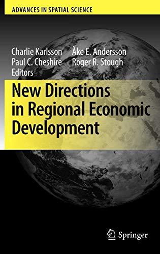 9783642010163: New Directions in Regional Economic Development (Advances in Spatial Science)