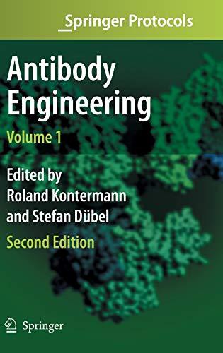 9783642011436: Antibody Engineering Volume 1 (Springer Protocols)