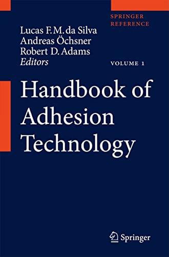 9783642011689: Handbook of Adhesion Technology