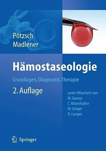 Hämostaseologie: Bernd P�tzsch