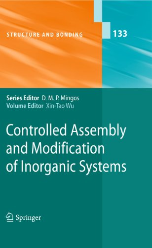 Controlled Assembly and Modification of Inorganic Systems: Xin-Tao Wu