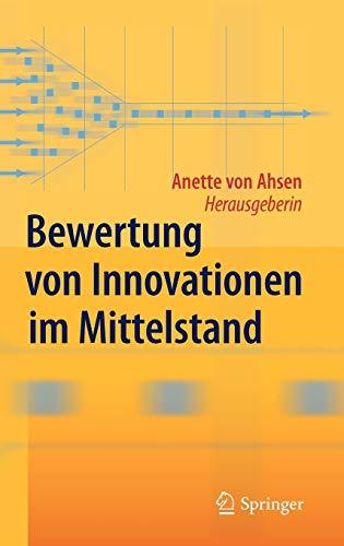 9783642016998: Bewertung von Innovationen im Mittelstand