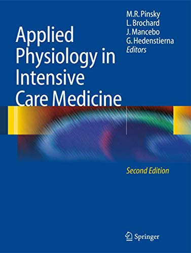 9783642017681: Applied Physiology in Intensive Care Medicine