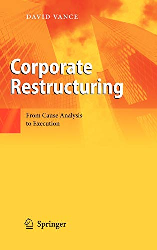 9783642017858: Corporate Restructuring: From Cause Analysis to Execution