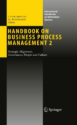 9783642019814: Handbook on Business Process Management 2: Strategic Alignment, Governance, People and Culture (International Handbooks on Information Systems)
