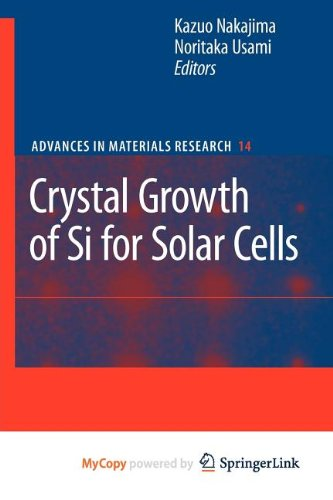 9783642020452: Crystal Growth of Silicon for Solar Cells