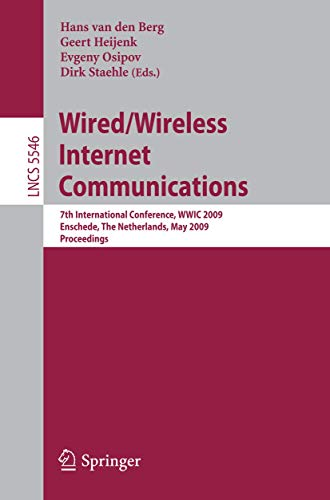 Wired/Wireless Internet Communications: Hans van den Berg