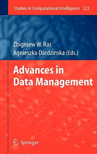 Advances in Data Management: Zbigniew W. Ras