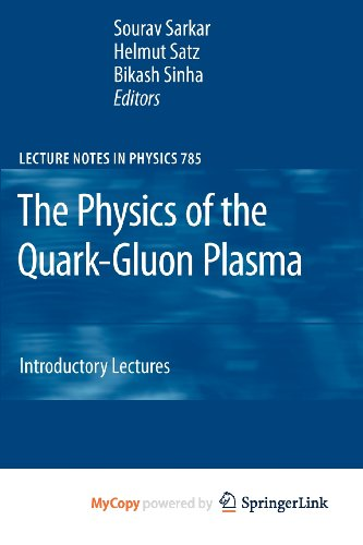 9783642022876: The Physics of the Quark-Gluon Plasma: Introductory Lectures