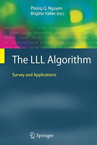 9783642022944: The LLL Algorithm: Survey and Applications (Information Security and Cryptography)