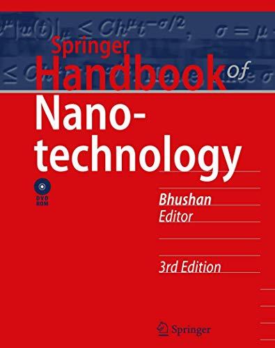 9783642025242: Springer Handbook of Nanotechnology (Springer Handbooks)