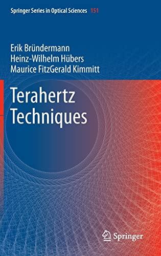 9783642025914: Terahertz Techniques (Springer Series in Optical Sciences)