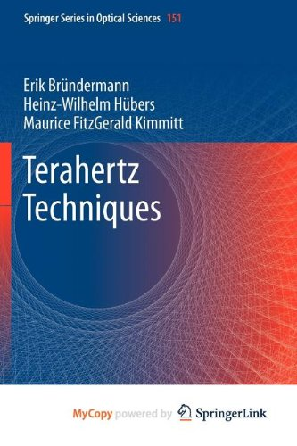 9783642025938: Terahertz Techniques