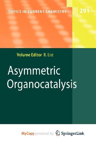 9783642028168: Asymmetric Organocatalysis